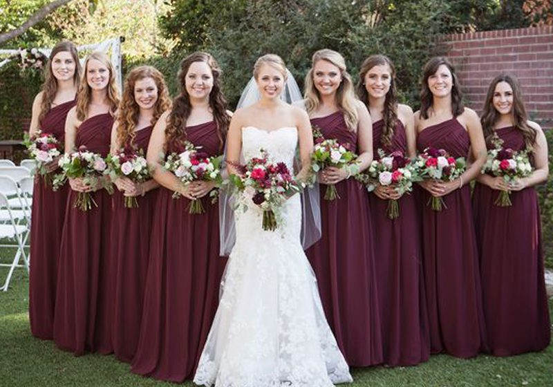Do's and Don'ts about Burgundy Bridesmaid Dresses that Nobody Told You Before